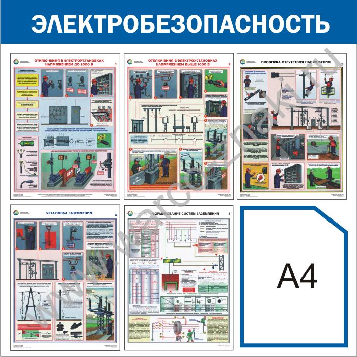 инструкции по от и тб электробезопасности