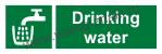 Drinking water (with text). Питьевая вода